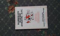 football programme  Harrogate Railway v Goole Town 1985