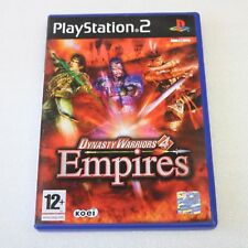Dynasty warriors 4 empires Ps2 -  Great condition NO Book