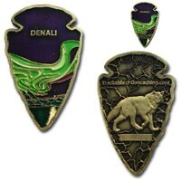 Denali Arrowhead Geocoin- Geocaching Trackable