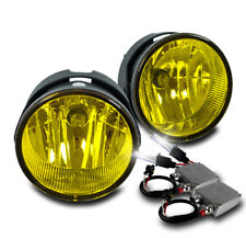 2007-2015 FORD EXPEDITION/2008-2011 RANGER BUMPER YELLOW FOG LIGHTS W/6K 50W HID