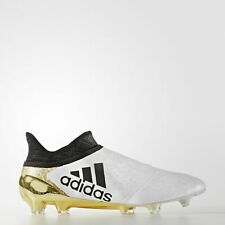 save off 53b84 4d9cb Mens Adidas X 16+ PureSpeed FGAG UK Size 11 Pro Football Boots White