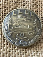WWI US LLLL Pin Loyal Legion of Loggers & Lumbermen Original