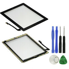 OEM Black Front Glass Touch Screen Digitizer Home Button Assembly For iPad 3 3rd
