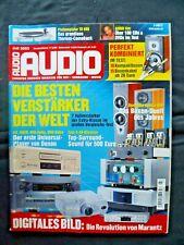 Audio 7/03, Tact m 2150, Octave V 50 Mk 2,asr emisor 1, ayre ax 7, Cayin 500 MK, mbl