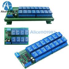 Dc12v 8 16channel Rs485 Relay Delay Module Modbus Rtu Plc Expaning Board