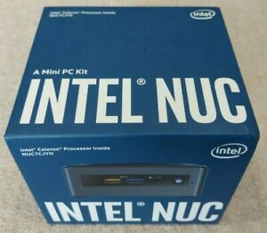 Intel NUC GEN 7 NUC7CJYH3 - Celeron 2Ghz, 4GB RAM, 120 EVO SSD Drive, New in box