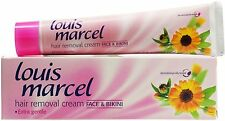 LOUIS MARCEL HAIR REMOVAL CREAM  FACE & BIKINI  WITH CALENDULA & WITCH HAZEL