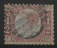 SG.48. 1/2d. Rose-Red Plate 3.  Good/Fine Used.  Cat.£50.  Ref 9.153