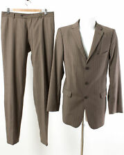 strellson Anzug Gr. 102 (L Schlank) 100% Wolle SUPER 100'S Business Suit