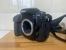 W384 Nikon D D300 12.3MP DSLR Camera - Black (Body only) - Well Used