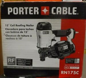 Porter Cable RN175C 15 Degree Coil Roofing Nailer BRAND NEW