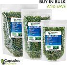 Size 00 Green Empty Gelatin Pill Capsules Kosher Gel Gluten-Free USA Made