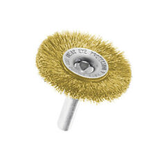 """Durable Carbon Steel Wires Wheel Brush + 1/4"""" Shank Hand Tools Replacement 1x"""