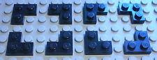 Lego Platte Ecke 1x2x2 Schwarz 8 Stück               (770)