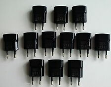 10 x Genuine 2-Pin Blackberry USB Mains Charger for 9720 Q5 Q10 Z10 Z30 Passport