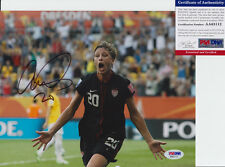 Abby Wambach USA World Cup Signed Autograph 8x10 Photo PSA/DNA COA B