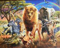 SAFARI ANIMALS JIGSAW 500 PIECES NEW & SEALED **FAST DISPATCH**