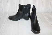 Aravon Patrina Ankle Boots- Women's size 8.5B Black