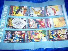 1992 DC comics Promo 17 by 22 Poster World without superman