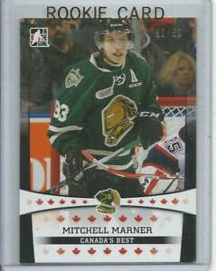 2014-15 ITG Mitch Mitchell Marner In The Game Black Pre Rookie Card RC #16 39/50