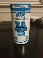 CTD Sports N.O. NITRO Extreme Muscle Pumps Endurance Strength - 60 capsules NEW