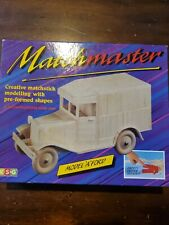 Model A Ford match master