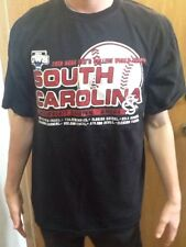 2010 COLLEGE WORLD SERIES South Carolina Rosenblatt Stadium Large T-Shirt NEW