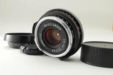【Mint】Voigtlander Color Skopar 35mm F2.5 p II For Leica  w/ Lens Hood From Japan