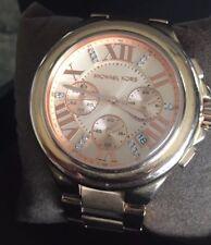 Ladies Michael Kors Rose Gold Oversized Watch MK5652