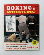 Boxing & Wrestling Magazine Vintage October 1961 Heavyweight Rankings       318