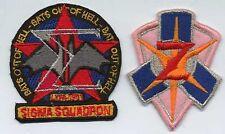 Babylon 5 Squadron Patch Set - Sigma & Zeta Squadrons / Iron-On