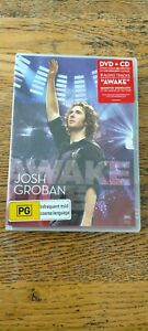 JOSH GROBAN - AWAKE LIVE (DVD + CD) VGC