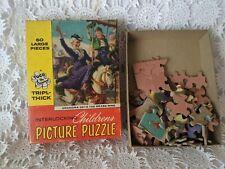 Tuco The Original Tripl-Thick Interlocking 60 Piece Children's Picture Puzzle