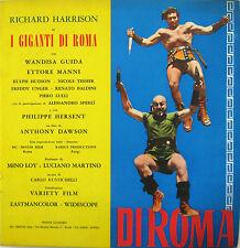 I GIGANTI DI ROMA brochure film 1964 Richard Harrison Wandisa Guida Ettore Manni