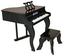 NEW Schoenhut Black Baby Grand Piano Childrens Toy 30 Keys & Learning System