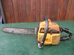 """Vintage PARTNER P55 Chainsaw Chain Saw with 15"""" Bar"""