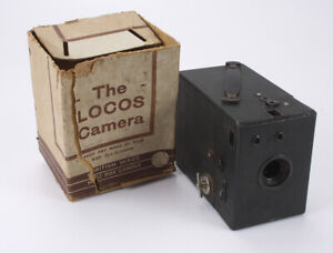 LOCOS CAMERA, BRITISH 6X9 CAMERA WITH TORN REMAINS OF THE BOX/cks/188176