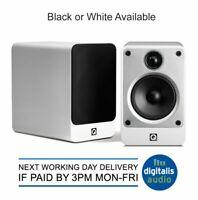 Q Acoustics Concept 20 2-Way Reflex Bookshelf Speakers Gloss Black or White