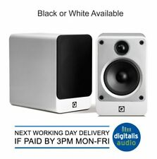 Q Acoustics Concept 20 2 Way Reflex Bookshelf Speakers Gloss Black or White