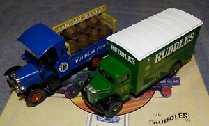 CORGI OFFICIAL BREWERY MODELS VINTAGE RUDDLES BREWERY LORRY & TRUCK