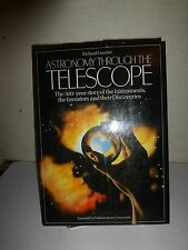 Astronomy Through the Telescope by Richard Learner (1981, Hardcover) 1st Ed  131