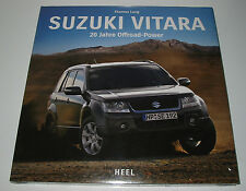 Bildband Suzuki Vitara 20 Jahre Offroad Power Thomas Lang Buch NEU!