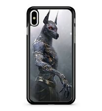 Red Eyed Angry Furious Invincible Anubis Egyptian God 2D Phone Case Cover