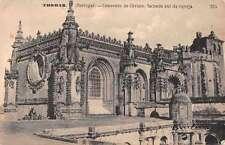Tomar Portugal view of Convento de Christo antique pc Z29978