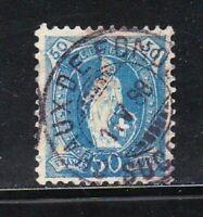 Switzerland stamps #86, used, 11.75 x 11.75,  1891 - 1903, SCV $27.50