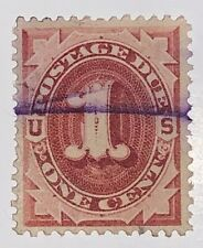 Travelstamps: 1884-1889 US STAMPS SCOTT #J15 POSTAGE DUE used NG