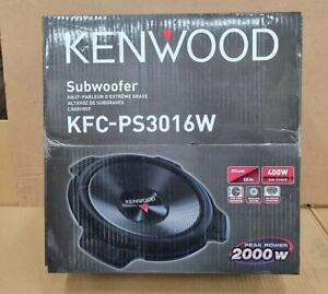 "Kenwood KFC-PS3016W 12"" 2000 Watt Car Subwoofer Brand New"