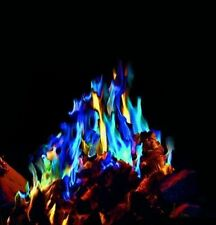 MYSTICAL FIRE 12 pkts Magical Fire Colourful Color changing Flames Campfire Fun