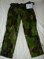 "ARKTIS M90 Swedish Camo Waterproof Combat Trousers/pants NEW 38"" waist 33"" IL"
