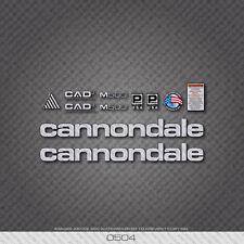 0504 Argento Cannondale M500 Bicicletta Adesivi-Decalcomanie-Transfers